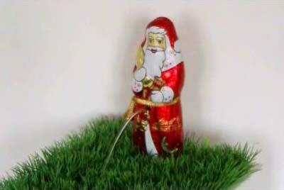 Wasser-Objekt: Weihnachtsmann