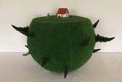 Wasser-Objekt: Graskugel